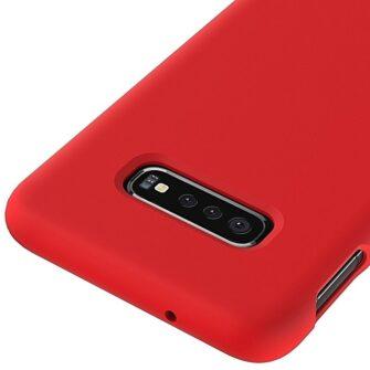Samsung S10 silikoon punane 1