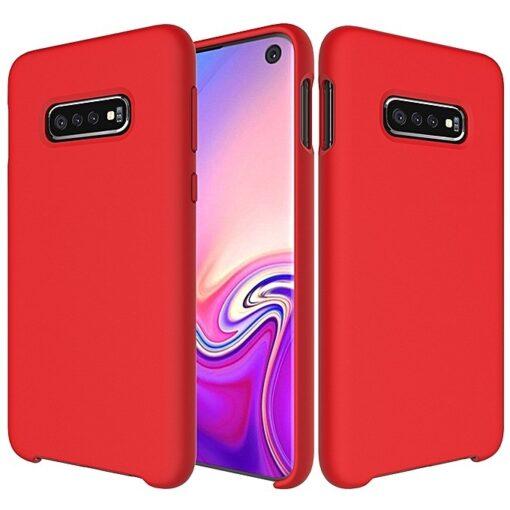 Samsung S10 silikoon punane 2