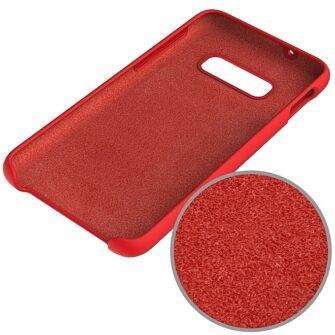 Samsung S10 silikoon punane 3