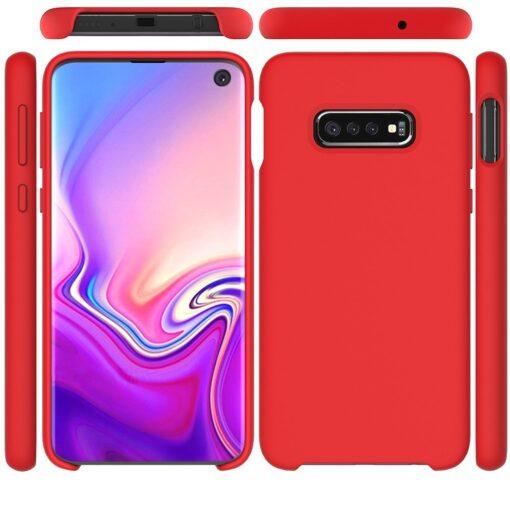 Samsung S10 silikoon punane 5