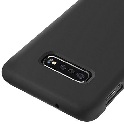 Samsung S10 silikoonist ümbris must 4