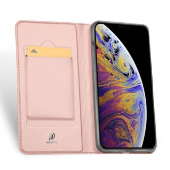 iPhone 11 kaaned kaarditaskuga dux ducis roosa nahast 3
