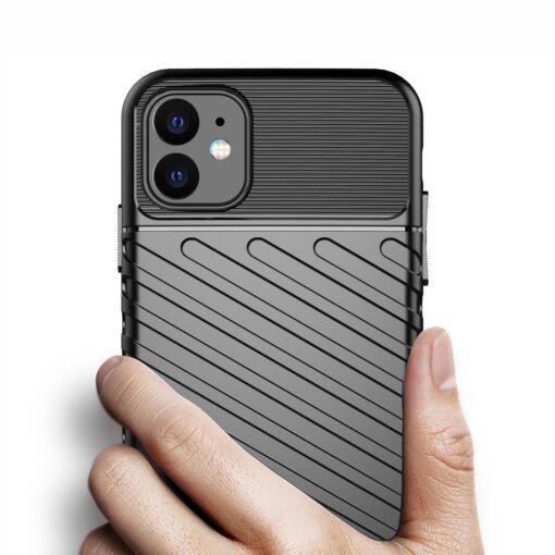 iPhone 11 tugev silikoonist ümbris musta värvi 3