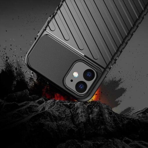 iPhone 11 tugev silikoonist ümbris musta värvi 4