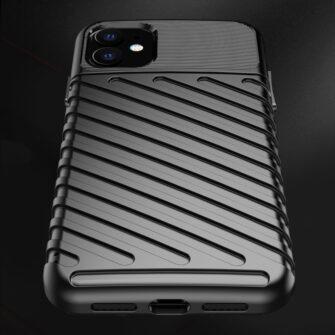 iPhone 11 tugev silikoonist ümbris musta värvi 5