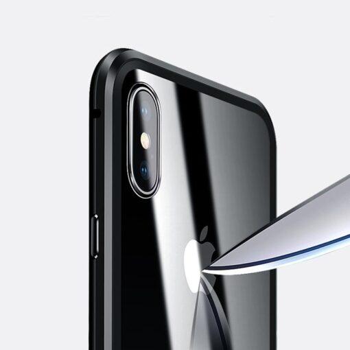 iPhone XS 360 magnetiga kaaned metallist 12