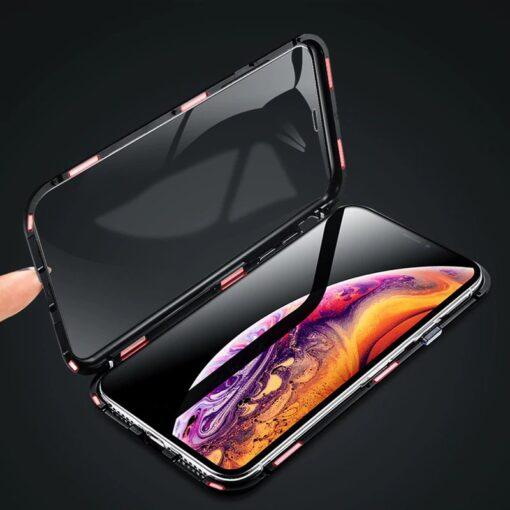 iPhone XS 360 magnetiga kaaned metallist 5