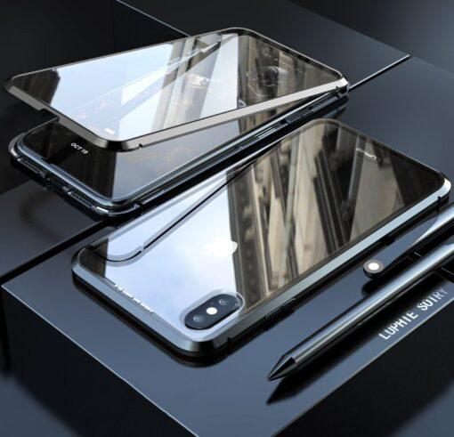 iPhone XS 360 magnetiga kaaned metallist 6