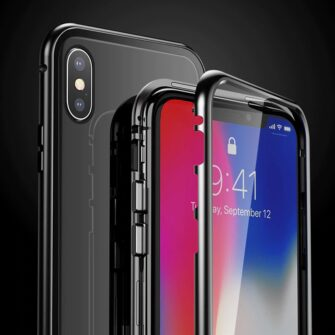 iPhone XS 360 magnetiga kaaned metallist 7