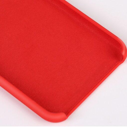 iPhone XS silikoonist ümbris punane 5