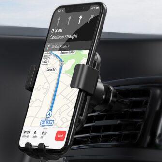 juhtmevaba laadijaga telefonihoidik autosse qi 9