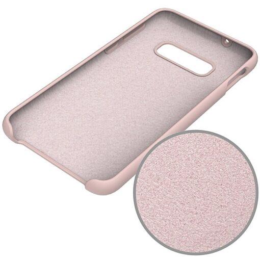 samsung s10 roosa ümbris silikoonist 3