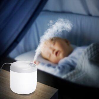 Õhuniisutaja Baseus Elephant 21 LED lamp 8