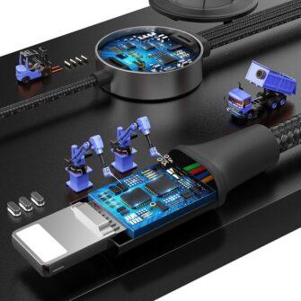 4in1 Micro USB USB C Lightning Qi Apple watch laadija 10