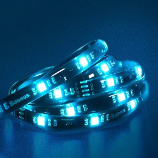 Baseus värviline kleebitav SMD 1m LED riba pikendus 5