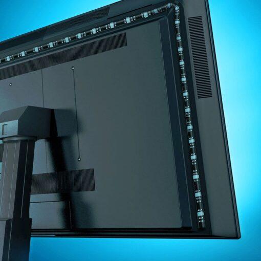 Baseus värviline kleebitav SMD LED riba 1.5m USB 15