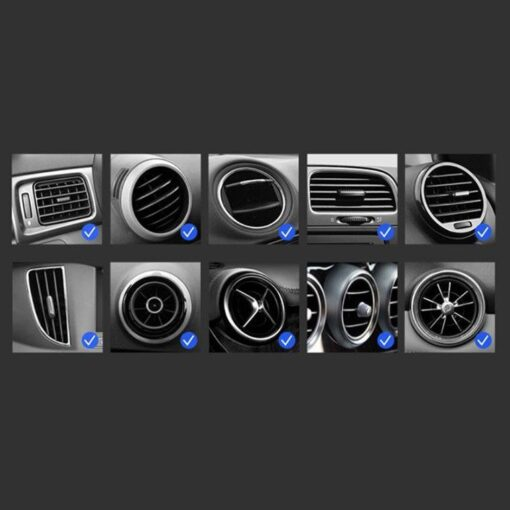 Gravitatsiooniga horisontaalne ja vertikaalne telefonihoidik autole 14