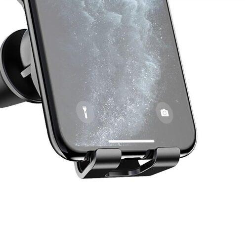 Gravitatsiooniga horisontaalne ja vertikaalne telefonihoidik autole 3
