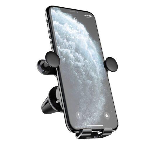 Gravitatsiooniga horisontaalne ja vertikaalne telefonihoidik autole 4