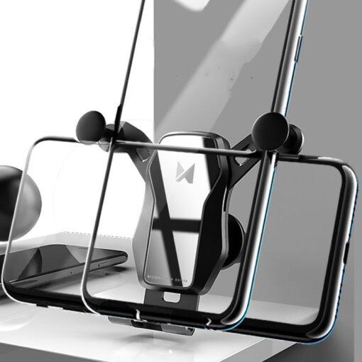 Gravitatsiooniga horisontaalne ja vertikaalne telefonihoidik autole 5