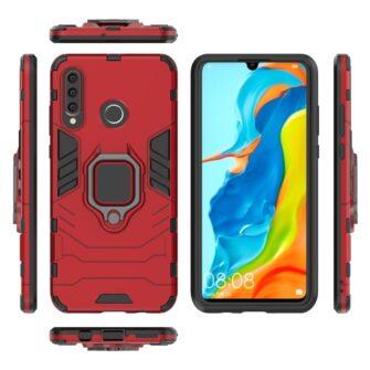 Huawei P30 Lite Hybrid Punane 9