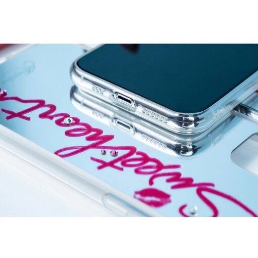 Kingxbar Angel mirror case decorated with original Swarovski crystals iPhone 11 transparent 11 2