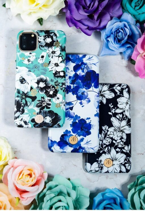 Kingxbar Blossom case decorated with original Swarovski crystals iPhone 11 multicolour Lily 15