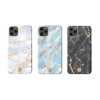 Kingxbar Marble Series case decorated printed marble iPhone 11 blue 6