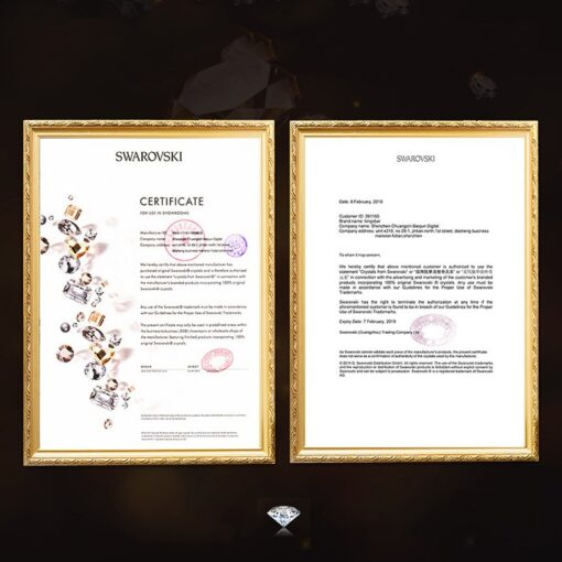 Kingxbar Wish Series case decorated with original Swarovski crystals iPhone 11 silver 8