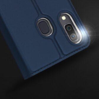 Samsung A20e kaaned DUX DUCIS Skin Pro Bookcase kuldne 10