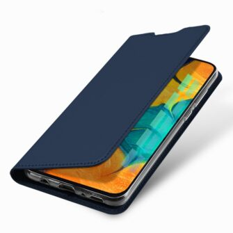 Samsung A20e kaaned DUX DUCIS Skin Pro Bookcase kuldne 12
