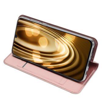 Samsung A20e kaaned DUX DUCIS Skin Pro Bookcase kuldne 14