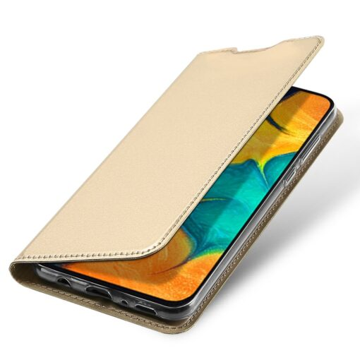 Samsung A20e kaaned DUX DUCIS Skin Pro Bookcase kuldne 2