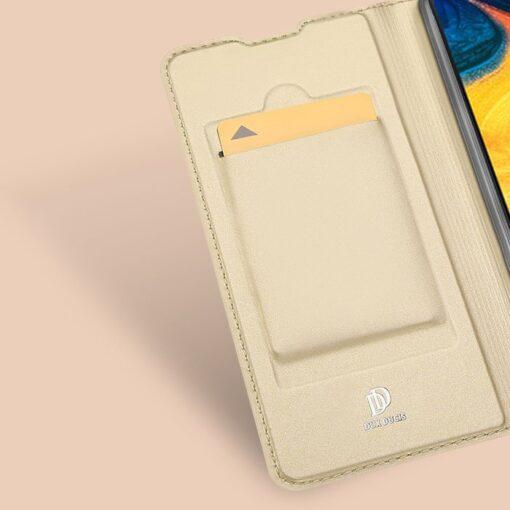 Samsung A20e kaaned DUX DUCIS Skin Pro Bookcase kuldne 7