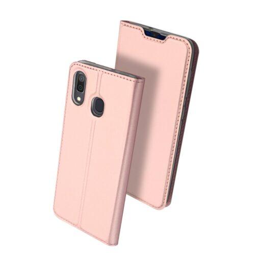 Samsung A20e kaaned DUX DUCIS Skin Pro Bookcase roosa 1
