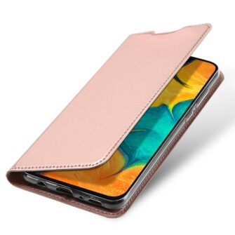 Samsung A20e kaaned DUX DUCIS Skin Pro Bookcase roosa 2