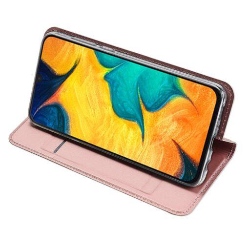 Samsung A20e kaaned DUX DUCIS Skin Pro Bookcase roosa 3