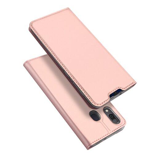 Samsung A20e kaaned DUX DUCIS Skin Pro Bookcase roosa