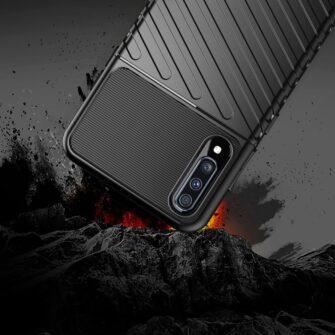 Samsung A70 tugev ümbris silikoonist must 6