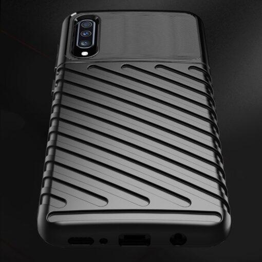 Samsung A70 tugev ümbris silikoonist must 7