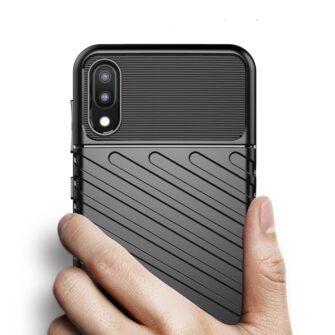 Samsung Galaxy A10 tugev ümbris silikoonist must 5