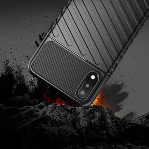 Samsung Galaxy A10 tugev ümbris silikoonist must 6