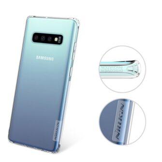 Samsung S10 ümbris silikoonist Nillkin Nature TPU läbipaistev 12