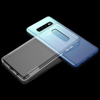 Samsung S10 ümbris silikoonist Nillkin Nature TPU läbipaistev 13