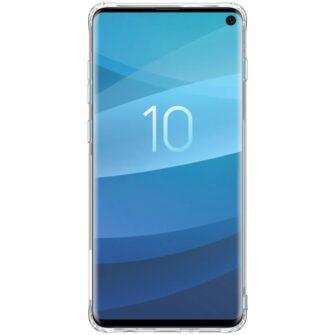 Samsung S10 ümbris silikoonist Nillkin Nature TPU läbipaistev 3