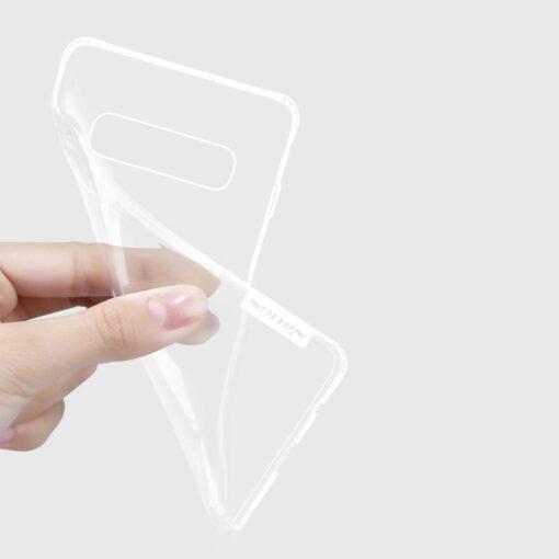Samsung S10 ümbris silikoonist Nillkin Nature TPU läbipaistev 8