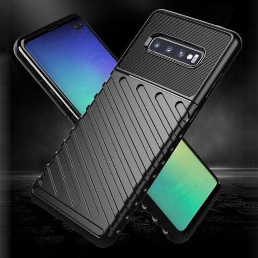 Samsung S10 ümbris tugev silikoonist must 10