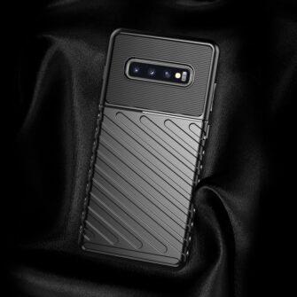Samsung S10 ümbris tugev silikoonist must 11