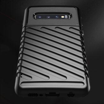 Samsung S10 ümbris tugev silikoonist must 7