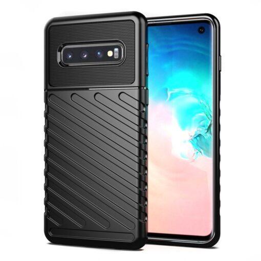 Samsung S10 ümbris tugev silikoonist must